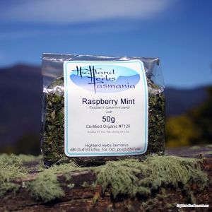 Raspberry-mint Tea